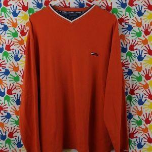Tommy Hilfiger V-neck long sleeve shirt